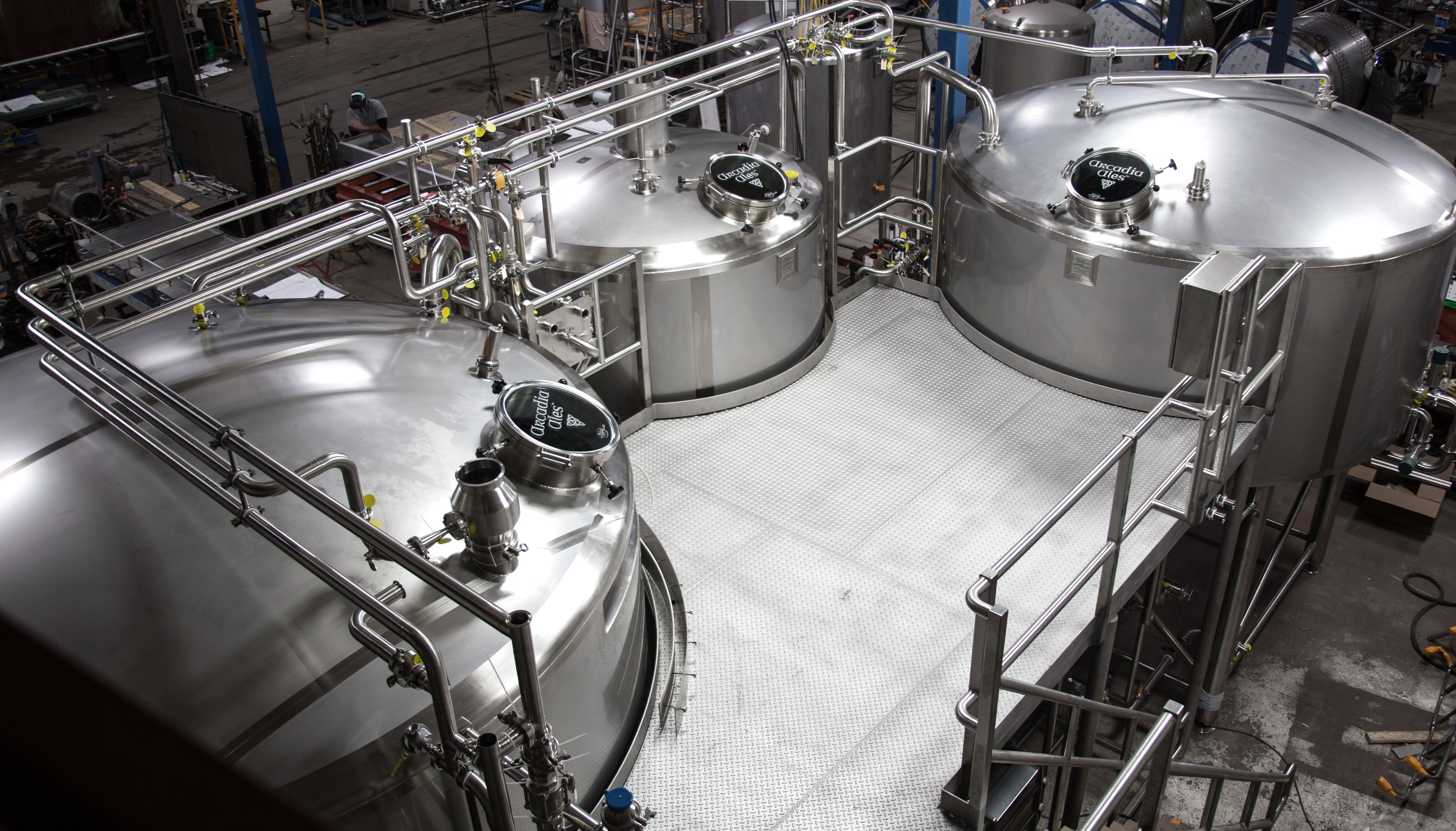 3 Vessel Brewhouse W M Sprinkman